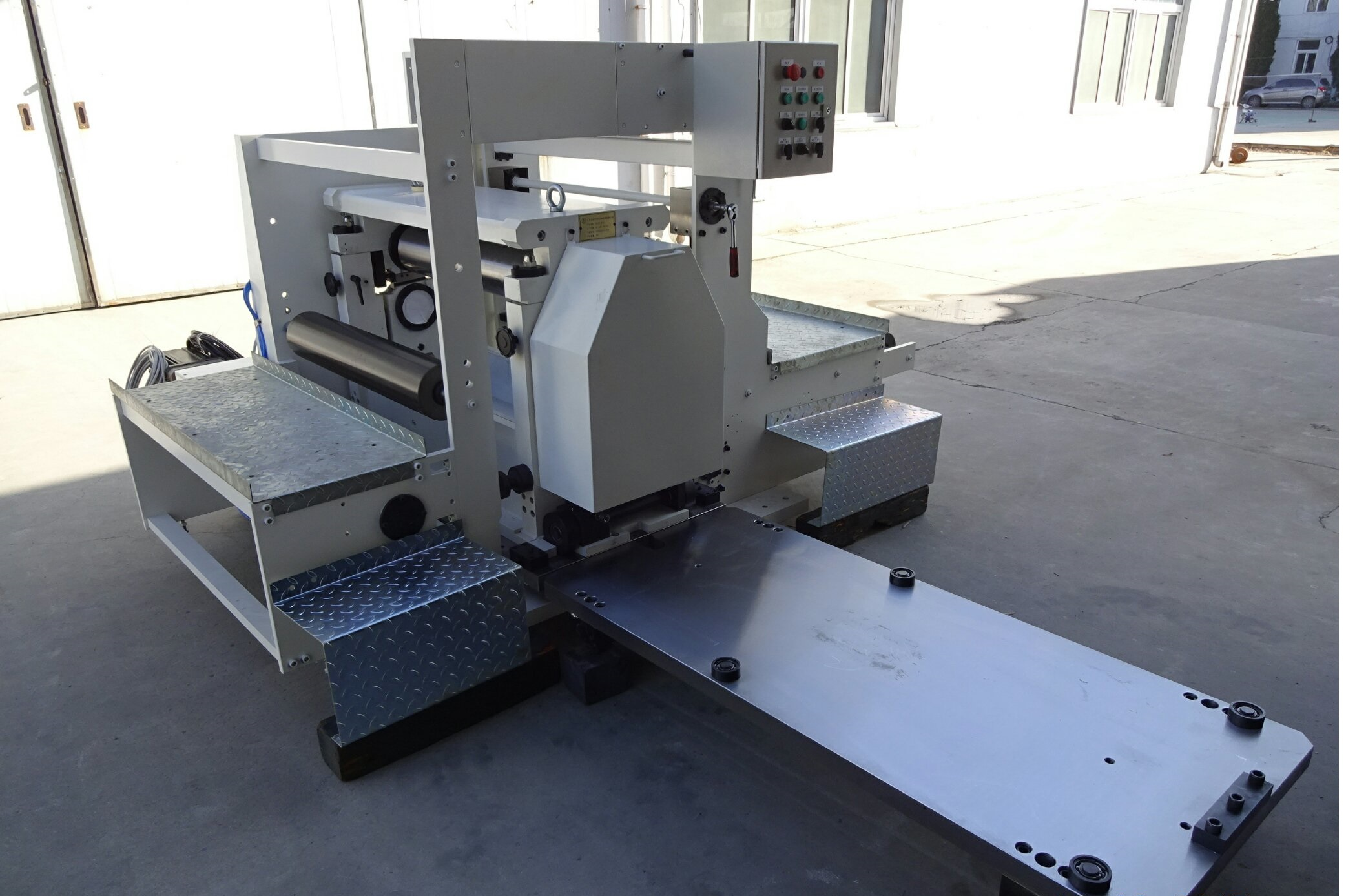 Bobst compatible vertical embossing unit, for Bobst Lemanic 820/Riviera DR85 or Bobst DR67
